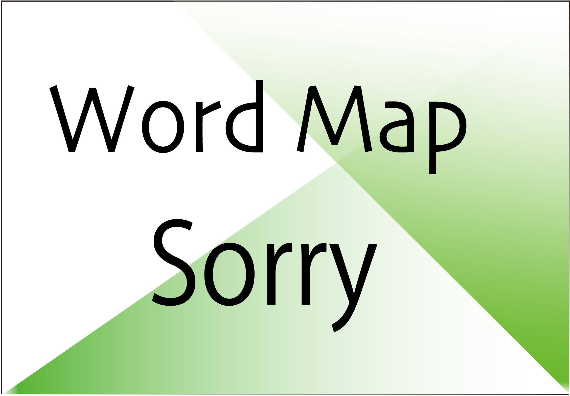 sorry-wordmap