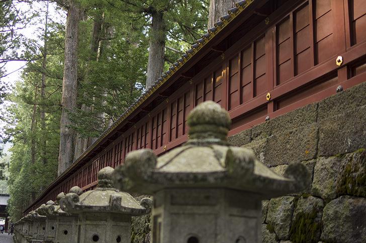 lantern in NIkko Toshogu